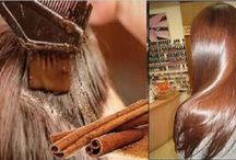 Canela em pó para fortalecer cabelos