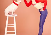 Puppys and pin ups / Puppy love - all photos taken by Vintage Vanga