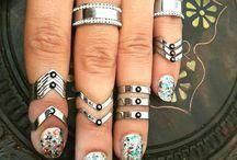Silver Stacking Rings, Stackable Rings, Stacking Rings Box Set, Stacking Rings Set, Midi Rings, Midi Rings Set, Ring Box Set,