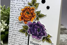 Stippled Flowers Projects- Gina K. Designs