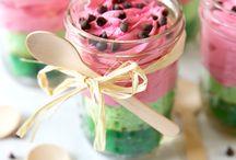 mini glas cake