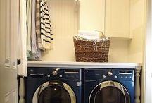Laundry, storages, etc...