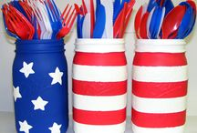 Patriotic Projects / All things red, white and blue! / by LoveMyCrafts.com | Sunshine Crafts Project Blog