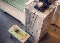 Solid Timber Pedestals / Very versatile pieces, perfect as bedside tables, art or speaker stands.