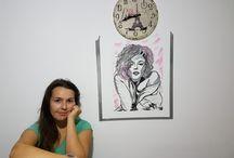 Mural painting...Marilyn Monroe!