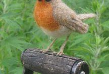Needle Felting Birds & Animals