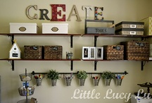 Craft/Sewing/Mommy room