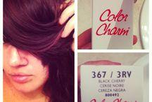 Black cherry hair dye