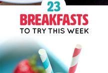 Jídlo - snídaně