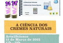 Workshops Maio 2015 / Workshops  Arts2Science Março 2015
