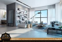Modern Interior Design / Seeking some serenity in the big city? Check out the soothing suite interior