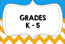Activities for Grades K-5 / Learning activities and resources for teachers in grades K to 5.