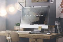 Free Workspace Mockups