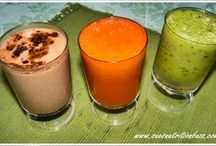 smoothies and infus water