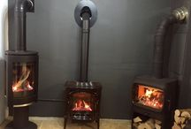 Gas Stoves / Gas Effect Stoves