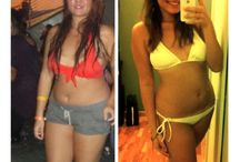Before and After - Toned Women / Before and After Pictures of Women who transformed themselves and got lean and toned.