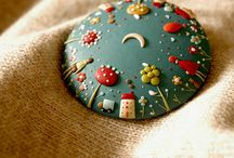 Polymer clay beauty