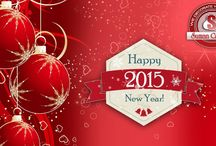 New Year 2015 / Wishing you all a very Happy NeW Year from Suman Creations