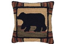 """Black Bear Decor / Are you going on a bear hunt?  Ok, ok, there are a few brown bears ... but, they are pretty cute too! Just put """"bears"""" into the search page on the Country Porch home page, and you will find hundreds of bears without a hunt at all!"""