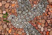 mosaicos en piedra