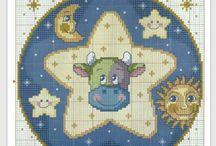 stjernetegn i perler