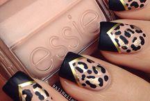 Nails, makeup + beauty.