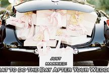 Just Married: What to do the Day After Your Wedding / You know everything you're supposed to do before the big day, but what about the day after your wedding? There are a few to-do's that you cannot forget and we share them. http://www.kimberleyandkev.com/just-married-day-wedding/