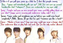 K-pop scenarios~