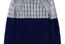 Man knitting For