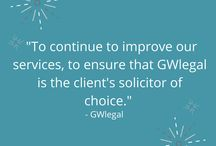 New Years Resolutions at GWlegal