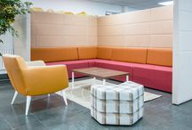 Adytum Space / Adytum Space is a flexible, fully upholstered space division system that allows you to create the collaborative and breakout spaces you need.
