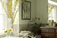 Ronnie's bathroom / by Corine Grubbs