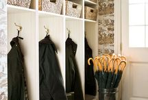 Laundry Mud Room Ideas / Ideas and inspiration for a laundry mud room