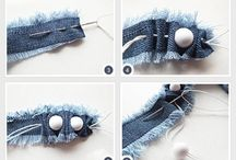 DIY ideas with old jeans