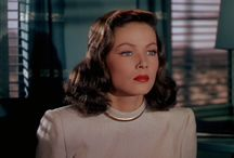 Gene Tierney / Leave her to heaven.