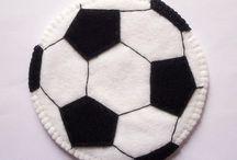 Bolas futebol em feltro