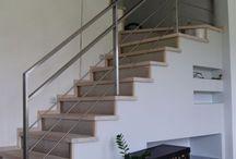 schody, poręcze, balustrady
