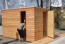 Gerätehaus - Aufbau