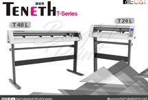 Jual Mesin Cutting Sticker TENETH Seri T Murah