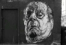 STREET ART/GRAFFITI/WHEATPASTE