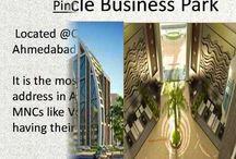 Office for rent Pinnacle Prahladnagar corporate road