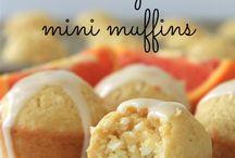 Coconut mini orange muffins