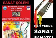 SANATSAL SERGİ VE FAALİYETLER / SANAT,SERGİ,AKTİVİTE,SANATSAL GÖRSEL ŞÖLENLER