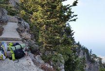 Bulutların üstünde yürümek / Kıbrıs Buffavento Kalesi  Çadır Kampımız...