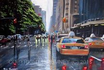Art For Sale Now - Just tap on the images to visit my ebay auctions / Buy Pete Rumney Art Here