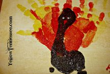Thanksgiving Crafts / Fun and easy Thanksgiving Crafts you can do with your kids!