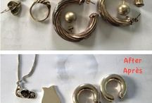 Bijoux / Nettoyer bijoux argent