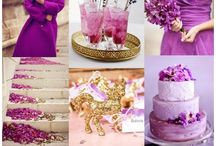 PANTONE Radiant Orchid Wedding Ideas / Wedding ideas inspired by the 2014 Color of the Year - Radiant Orchard