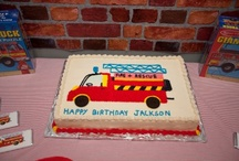 Jackson's Firetruck Party