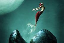 mermaids / by Lauren Sizemore